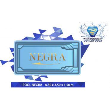 NEGRA 8,50 x 3,70 x 1,55 m