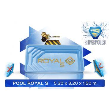 ROYAL 5,30 x 3,20 x 1,50 m